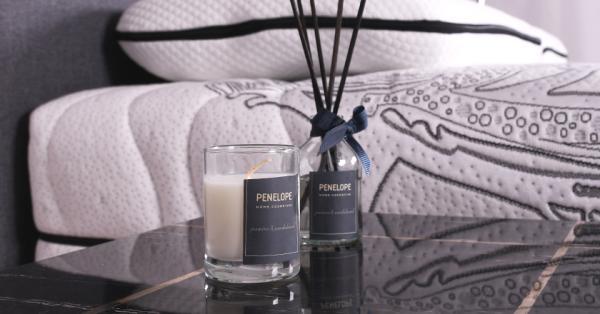 Дифузор + аромасвічки Penelope, жасмин і сандал - 50 мл