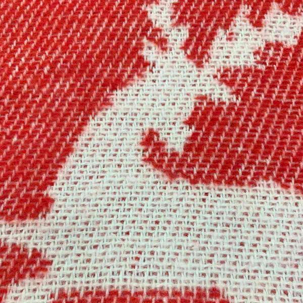 Плед Територія сну Valencia червоні олені 140х200